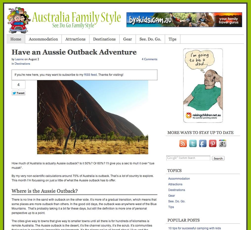 Australia Family Style