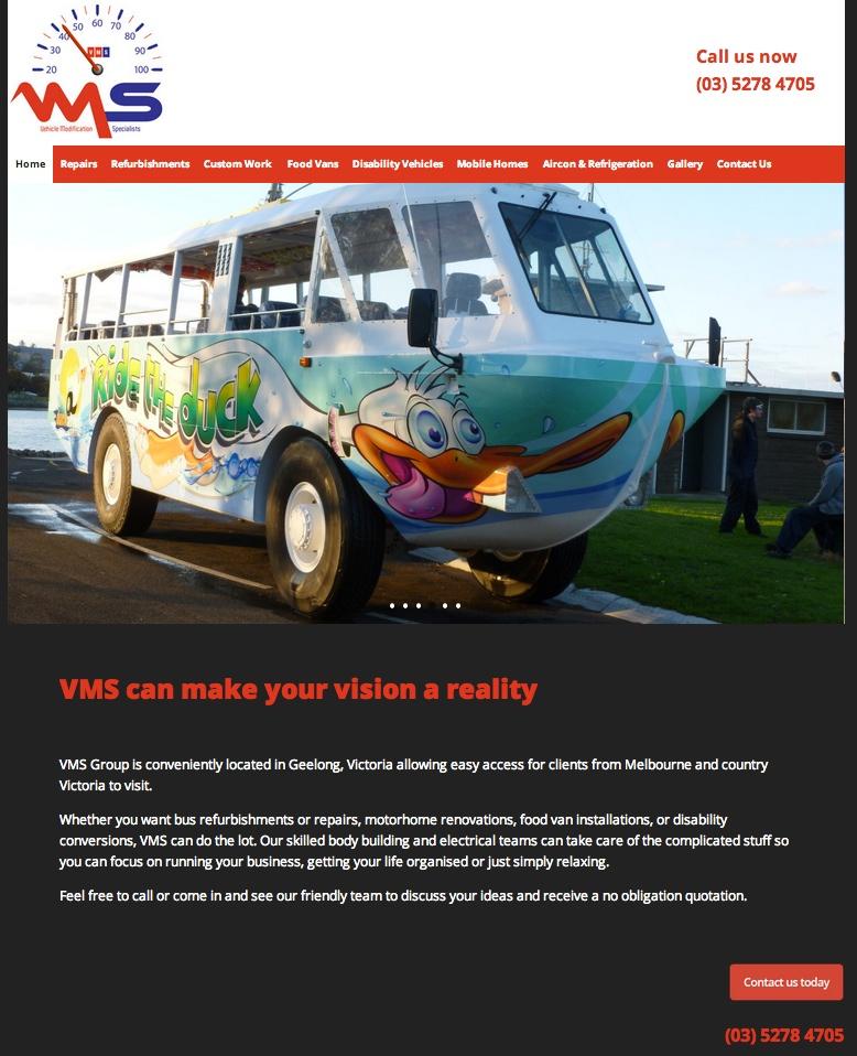VMS Website Redesign