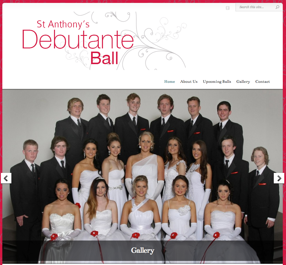 Lara and Geelong Debutante Balls