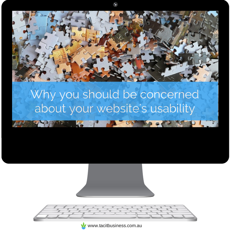 Why you should be concerned about your website's usability