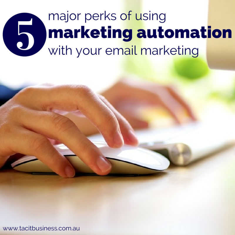major perks of using marketing automation